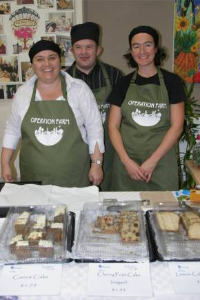 Topaz Cafe at Operation Farm Autumn Festival 2011