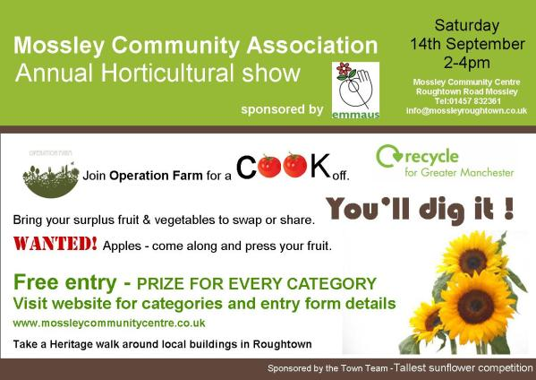 'Cook Off' with Operation Farm 14th September 2-4pm