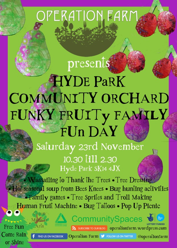 Hyde Park Community Orchard - Family Fun Day