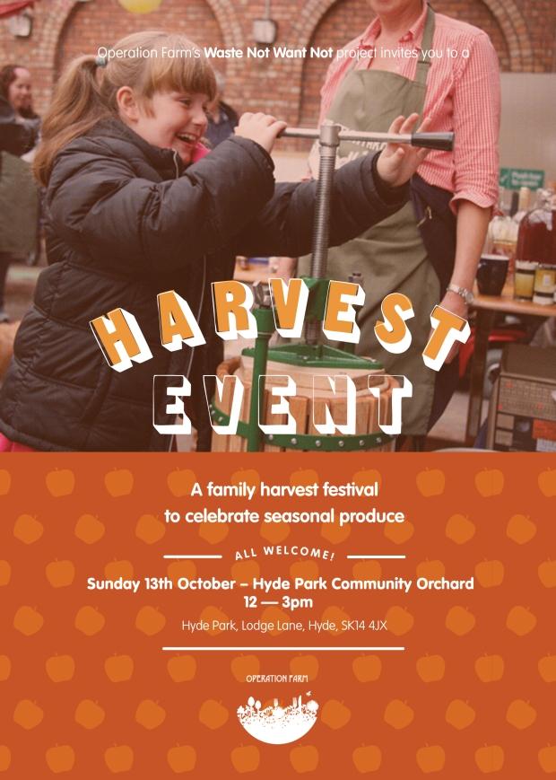#HydeParkHarvest Festival - Sunday 13th October 2013
