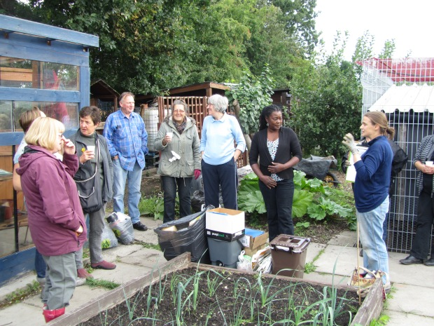 Volunteer Allotment Session at Hyde Park Community Allotments