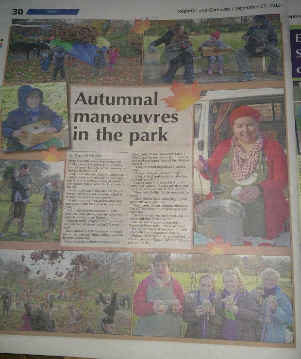 Great coverage in the Reporter and Chronicle this week...